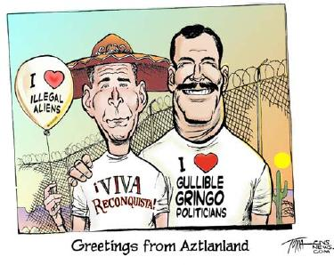 Bush Loves Illegal Aliens